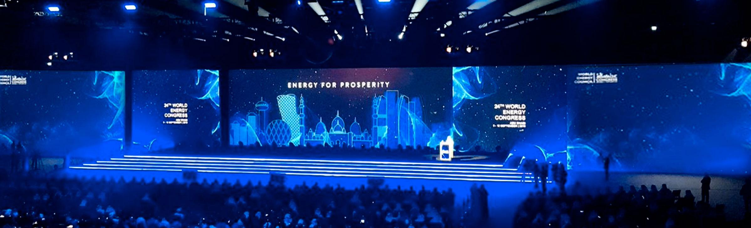 World Energy Congress Opening Ceremony Show